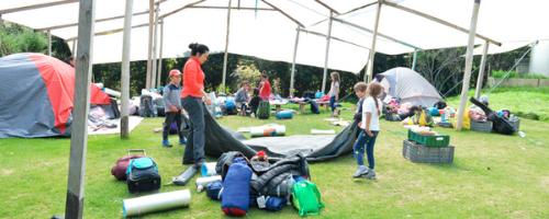 Camping en Choachí para grupos