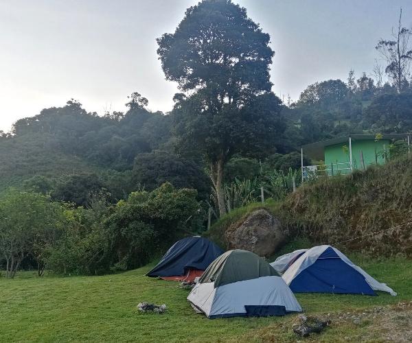 Zona de Camping en Choachí 1