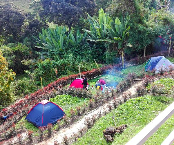 Zona de Camping en Choachí 2